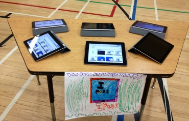 iPad table featuring their Show Me videos.